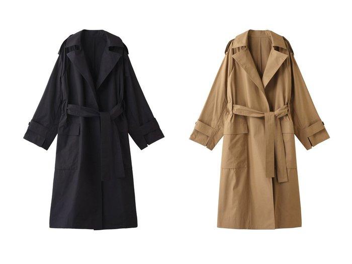 【POSTELEGANT/ポステレガント】のハイカウントコットンコート 【アウター】おすすめ!人気、トレンド・レディースファッションの通販 おすすめファッション通販アイテム インテリア・キッズ・メンズ・レディースファッション・服の通販 founy(ファニー) https://founy.com/ ファッション Fashion レディースファッション WOMEN アウター Coat Outerwear コート Coats 2021年 2021 2021春夏・S/S SS/Spring/Summer/2021 S/S・春夏 SS・Spring/Summer ビッグ ベーシック ポケット ロング 春 Spring |ID:crp329100000028562