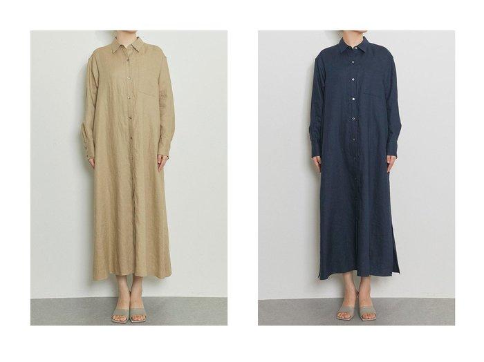 【Whim Gazette/ウィムガゼット】のリネンシャツドレス 【ワンピース・ドレス】おすすめ!人気、トレンド・レディースファッションの通販 おすすめファッション通販アイテム インテリア・キッズ・メンズ・レディースファッション・服の通販 founy(ファニー) https://founy.com/ ファッション Fashion レディースファッション WOMEN ワンピース Dress ドレス Party Dresses 2021年 2021 2021春夏・S/S SS/Spring/Summer/2021 S/S・春夏 SS・Spring/Summer おすすめ Recommend スタイリッシュ ドレス リネン ロング 春 Spring 羽織 |ID:crp329100000028604