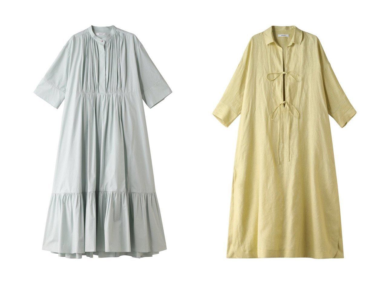 【ebure/エブール】のボタニカルコットンシルク バンドカラーシャツワンピース&ボタニカルリネン シャツワンピース 【ワンピース・ドレス】おすすめ!人気、トレンド・レディースファッションの通販 おすすめで人気の流行・トレンド、ファッションの通販商品 メンズファッション・キッズファッション・インテリア・家具・レディースファッション・服の通販 founy(ファニー) https://founy.com/ ファッション Fashion レディースファッション WOMEN ワンピース Dress シャツワンピース Shirt Dresses 2021年 2021 2021春夏・S/S SS/Spring/Summer/2021 S/S・春夏 SS・Spring/Summer ギャザー パーティ フレア フロント ロング 春 Spring  ID:crp329100000028610