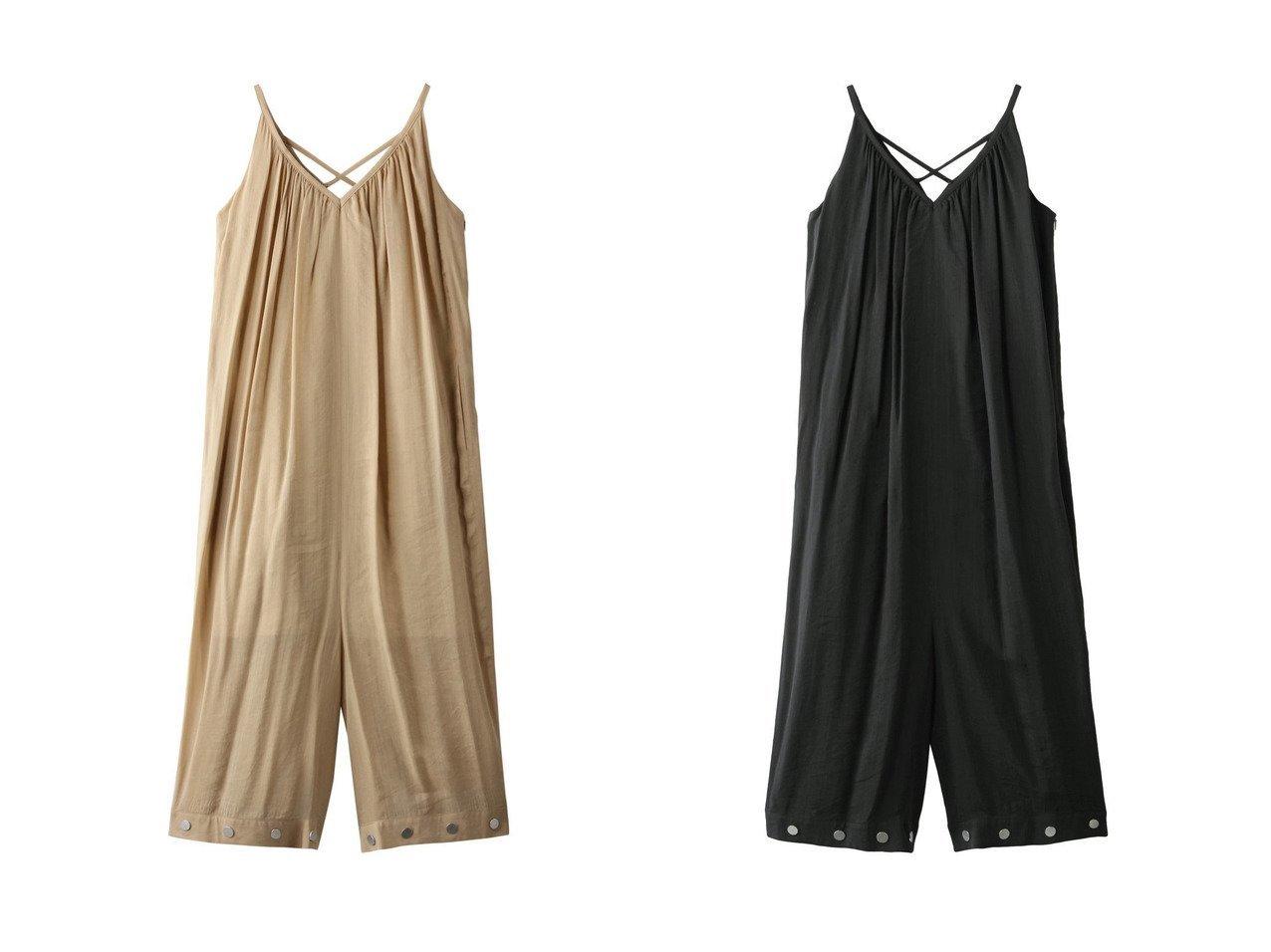 【AKIRANAKA/アキラナカ】のViivi トップコンビネゾン 【ワンピース・ドレス】おすすめ!人気、トレンド・レディースファッションの通販 おすすめで人気の流行・トレンド、ファッションの通販商品 メンズファッション・キッズファッション・インテリア・家具・レディースファッション・服の通販 founy(ファニー) https://founy.com/ ファッション Fashion レディースファッション WOMEN パンツ Pants 2021年 2021 2021春夏・S/S SS/Spring/Summer/2021 S/S・春夏 SS・Spring/Summer シアー シルバー リネン 春 Spring  ID:crp329100000028619