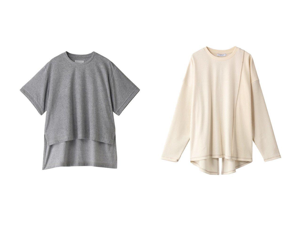 【MIDIUMISOLID/ミディウミソリッド】のパイルトップス・Tシャツ&【ROSE BUD/ローズバッド】のブロッキングカットソー 【トップス・カットソー】おすすめ!人気、トレンド・レディースファッションの通販 おすすめで人気の流行・トレンド、ファッションの通販商品 メンズファッション・キッズファッション・インテリア・家具・レディースファッション・服の通販 founy(ファニー) https://founy.com/ ファッション Fashion レディースファッション WOMEN トップス・カットソー Tops/Tshirt シャツ/ブラウス Shirts/Blouses ロング / Tシャツ T-Shirts カットソー Cut and Sewn 2021年 2021 2021春夏・S/S SS/Spring/Summer/2021 S/S・春夏 SS・Spring/Summer ショート シンプル スリーブ 春 Spring |ID:crp329100000028623