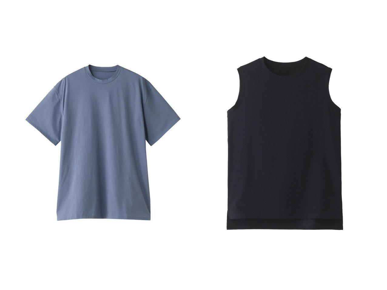 【POSTELEGANT/ポステレガント】のハイゲージコットンノースリーブTシャツ&ハイゲージコットンTシャツ 【トップス・カットソー】おすすめ!人気、トレンド・レディースファッションの通販 おすすめで人気の流行・トレンド、ファッションの通販商品 メンズファッション・キッズファッション・インテリア・家具・レディースファッション・服の通販 founy(ファニー) https://founy.com/ ファッション Fashion レディースファッション WOMEN トップス・カットソー Tops/Tshirt シャツ/ブラウス Shirts/Blouses ロング / Tシャツ T-Shirts カットソー Cut and Sewn キャミソール / ノースリーブ No Sleeves 2021年 2021 2021春夏・S/S SS/Spring/Summer/2021 S/S・春夏 SS・Spring/Summer ショート シンプル スリーブ ボトム 今季 春 Spring |ID:crp329100000028631