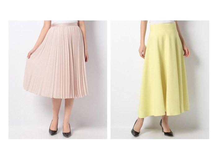 【ANAYI/アナイ】のバックサテンアムンゼンプリーツスカート&ウールジョーゼットフレアスカート 【スカート】おすすめ!人気、トレンド・レディースファッションの通販 おすすめファッション通販アイテム レディースファッション・服の通販 founy(ファニー) ファッション Fashion レディースファッション WOMEN スカート Skirt Aライン/フレアスカート Flared A-Line Skirts プリーツスカート Pleated Skirts バッグ Bag NEW・新作・新着・新入荷 New Arrivals おすすめ Recommend ギャザー クラシカル グログラン ジャケット ジョーゼット フェミニン フレア 春 Spring 無地 エアリー オケージョン サテン ツイード プリーツ |ID:crp329100000028661
