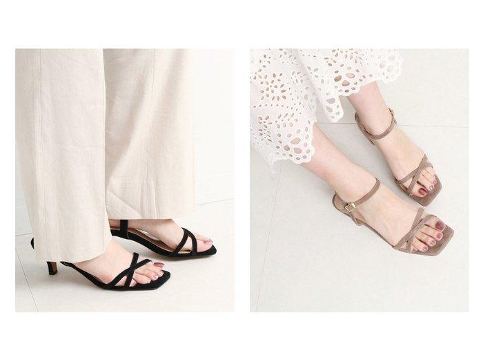 【SLOBE IENA/スローブ イエナ】のSLOBE IENA クロスヒールサンダル 【シューズ・靴】おすすめ!人気、トレンド・レディースファッションの通販 おすすめファッション通販アイテム レディースファッション・服の通販 founy(ファニー) ファッション Fashion レディースファッション WOMEN 2021年 2021 2021春夏・S/S SS/Spring/Summer/2021 S/S・春夏 SS・Spring/Summer おすすめ Recommend サンダル シューズ デニム トレンド フェミニン ミュール ラップ |ID:crp329100000028668