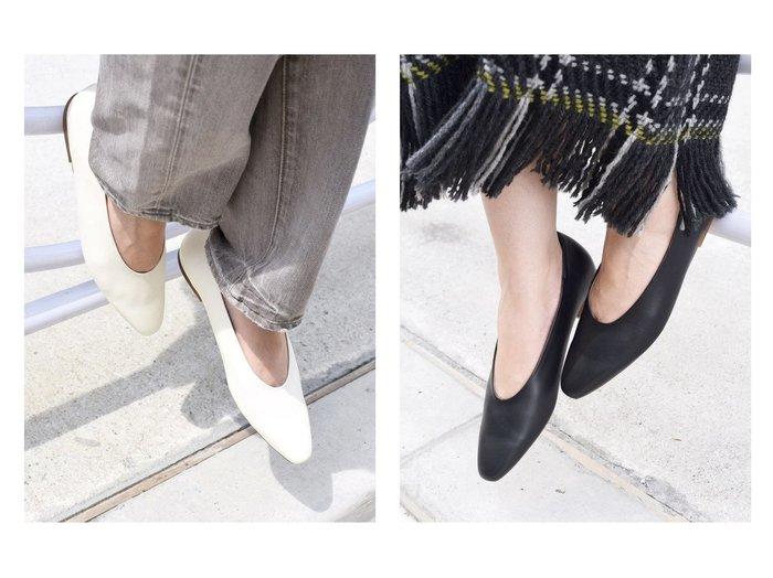 【SHIPS/シップス フォー ウィメン】の【MORE SIZE】ロングスクエアフラットシューズ 【シューズ・靴】おすすめ!人気、トレンド・レディースファッションの通販 おすすめファッション通販アイテム レディースファッション・服の通販 founy(ファニー) ファッション Fashion レディースファッション WOMEN NEW・新作・新着・新入荷 New Arrivals インソール クッション シューズ シンプル ハーフ 抗菌 |ID:crp329100000028669
