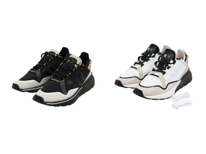【adidas Originals/アディダス オリジナルス】のZX 2K BOOST ピュア ZX 2K BOOST PURE アディダスオリジナルス 【シューズ・靴】おすすめ!人気、トレンド・レディースファッションの通販 おすすめファッション通販アイテム レディースファッション・服の通販 founy(ファニー) ファッション Fashion レディースファッション WOMEN クッション シューズ スニーカー スリッポン |ID:crp329100000028671