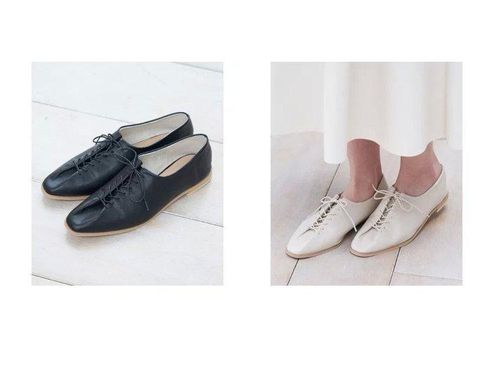 【ROPE' PICNIC/ロペピクニック】のソフトタックレースアップフラットシューズ 【シューズ・靴】おすすめ!人気、トレンド・レディースファッションの通販 おすすめ人気トレンドファッション通販アイテム インテリア・キッズ・メンズ・レディースファッション・服の通販 founy(ファニー) https://founy.com/ ファッション Fashion レディースファッション WOMEN シューズ ジーンズ ストッキング ソックス フラット ベーシック レース  ID:crp329100000028672