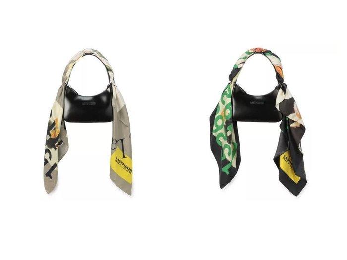 【LASTFRAME/ラストフレーム】のSILK SCARF + LEATHER HANDBAG 【バッグ・鞄】おすすめ!人気、トレンド・レディースファッションの通販 おすすめファッション通販アイテム レディースファッション・服の通販 founy(ファニー) ファッション Fashion レディースファッション WOMEN バッグ Bag ストール Scarves マフラー Mufflers 2021年 2021 2021春夏・S/S SS/Spring/Summer/2021 S/S・春夏 SS・Spring/Summer エレガント シルク スカーフ ストール ハンドバッグ フラワー プリント マフラー モダン |ID:crp329100000028682