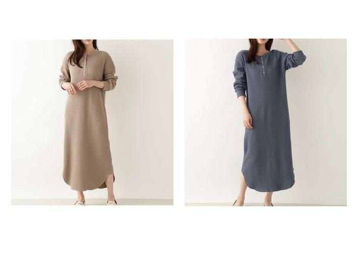 【NATURAL BEAUTY BASIC/ナチュラル ビューティー ベーシック】の洗える 2WAYオーガニックコットンワッフルワンピース 【ワンピース・ドレス】おすすめ!人気、トレンド・レディースファッションの通販 おすすめファッション通販アイテム レディースファッション・服の通販 founy(ファニー) ファッション Fashion レディースファッション WOMEN ワンピース Dress おすすめ Recommend ボトム リラックス ワッフル 洗える  ID:crp329100000028744