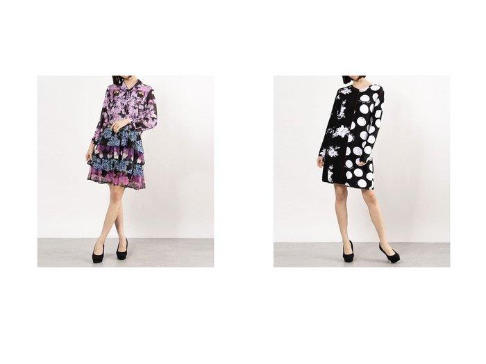 【Desigual/デシグアル】のワンピース長袖 OLIMPIA&ワンピース長袖 MIXRAS 【ワンピース・ドレス】おすすめ!人気、トレンド・レディースファッションの通販 おすすめファッション通販アイテム レディースファッション・服の通販 founy(ファニー)  ファッション Fashion レディースファッション WOMEN ワンピース Dress 2021年 2021 2021春夏・S/S SS/Spring/Summer/2021 S/S・春夏 SS・Spring/Summer 春 Spring 長袖 |ID:crp329100000028758