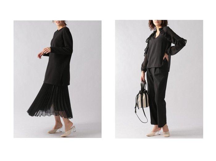【Ezick/エジック】のバックレースアップカットプルオーバー&フリルストライプブラウス 【トップス・カットソー】おすすめ!人気、トレンド・レディースファッションの通販 おすすめファッション通販アイテム レディースファッション・服の通販 founy(ファニー) ファッション Fashion レディースファッション WOMEN トップス・カットソー Tops/Tshirt シャツ/ブラウス Shirts/Blouses ロング / Tシャツ T-Shirts プルオーバー Pullover カットソー Cut and Sewn 2021年 2021 2021春夏・S/S SS/Spring/Summer/2021 S/S・春夏 SS・Spring/Summer おすすめ Recommend エアリー ストライプ スリーブ バランス フリル ロング 春 Spring |ID:crp329100000028762
