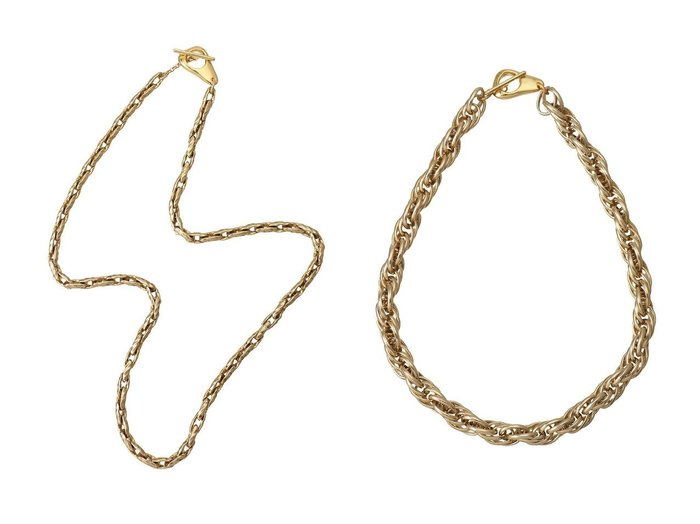 【Soierie/ソワリー】のOld chain 06 ネックレス&Old chain 05 ネックレス 【アクセサリー・ジュエリー】おすすめ!人気、トレンド・レディースファッションの通販 おすすめファッション通販アイテム インテリア・キッズ・メンズ・レディースファッション・服の通販 founy(ファニー) https://founy.com/ ファッション Fashion レディースファッション WOMEN ジュエリー Jewelry ネックレス Necklaces 2021年 2021 2021春夏・S/S SS/Spring/Summer/2021 S/S・春夏 SS・Spring/Summer チェーン ネックレス パーティ 再入荷 Restock/Back in Stock/Re Arrival 春 Spring |ID:crp329100000028886