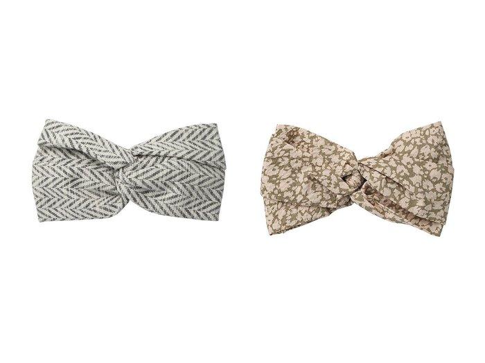 【La Maison de Lyllis/ラ メゾン ド リリス】のHACHIMAKI ターバン&MUSUBI フラワー柄ターバン おすすめ!人気トレンド・レディースファッションの通販 おすすめ人気トレンドファッション通販アイテム インテリア・キッズ・メンズ・レディースファッション・服の通販 founy(ファニー) https://founy.com/ ファッション Fashion レディースファッション WOMEN 2021年 2021 2021春夏・S/S SS/Spring/Summer/2021 S/S・春夏 SS・Spring/Summer スカーフ ターバン フラワー プリント 春 Spring |ID:crp329100000028936