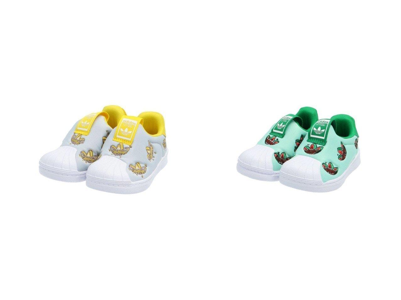 【adidas Originals / KIDS/アディダス オリジナルス】のSST 360 I アディダスオリジナルス(キッズ/子供用) 【KIDS】子供服のおすすめ!人気トレンド・キッズファッションの通販 おすすめで人気の流行・トレンド、ファッションの通販商品 メンズファッション・キッズファッション・インテリア・家具・レディースファッション・服の通販 founy(ファニー) https://founy.com/ ファッション Fashion キッズファッション KIDS S/S・春夏 SS・Spring/Summer カラフル シューズ スウィート スニーカー ベビー メッシュ モチーフ 再入荷 Restock/Back in Stock/Re Arrival  ID:crp329100000028968