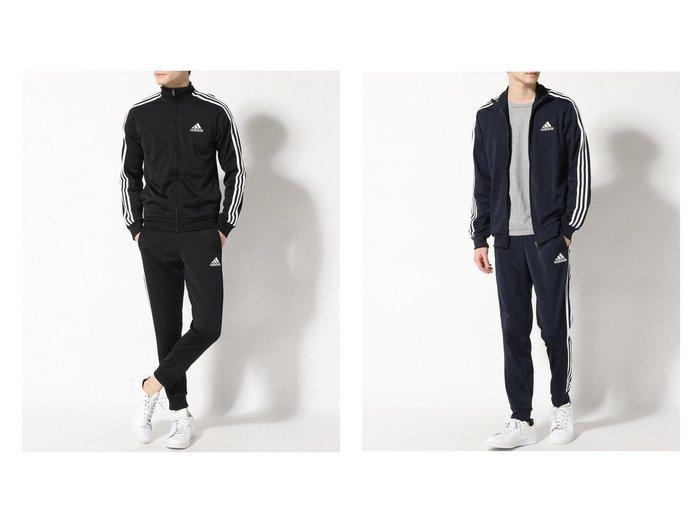 【adidas Sports Performance / MEN/アディダス スポーツ パフォーマンス】のPRIMEGREEN エッセンシャルズ 3ストライプス トラックスーツ Primegreen Essentials 3-Stripes Track Suit アディダス 【MEN】おすすめ!人気トレンド・男性、メンズファッションの通販 おすすめファッション通販アイテム レディースファッション・服の通販 founy(ファニー) ファッション Fashion メンズファッション MEN クラシック ジャケット ジャージ スポーツ スーツ セットアップ ビンテージ フィット ポケット ミックス 水着 レギュラー |ID:crp329100000028986