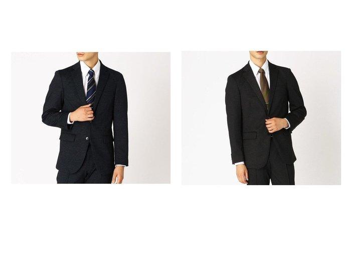 【COMME CA ISM / MEN/コムサイズム】のセットアップ対応 デニムライク ジャージー テーラードジャケット 【MEN】おすすめ!人気トレンド・男性、メンズファッションの通販 おすすめ人気トレンドファッション通販アイテム 人気、トレンドファッション・服の通販 founy(ファニー)  ファッション Fashion メンズファッション MEN セットアップ Setup/Men 軽量 ジャケット ジャージー スーツ セットアップ デニム フォーマル フランス プリント ベーシック ポケット メッシュ |ID:crp329100000028993