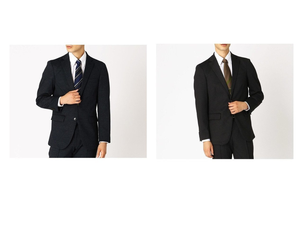 【COMME CA ISM / MEN/コムサイズム】のセットアップ対応 デニムライク ジャージー テーラードジャケット 【MEN】おすすめ!人気トレンド・男性、メンズファッションの通販 おすすめで人気の流行・トレンド、ファッションの通販商品 メンズファッション・キッズファッション・インテリア・家具・レディースファッション・服の通販 founy(ファニー) https://founy.com/ ファッション Fashion メンズファッション MEN セットアップ Setup/Men 軽量 ジャケット ジャージー スーツ セットアップ デニム フォーマル フランス プリント ベーシック ポケット メッシュ  ID:crp329100000028993