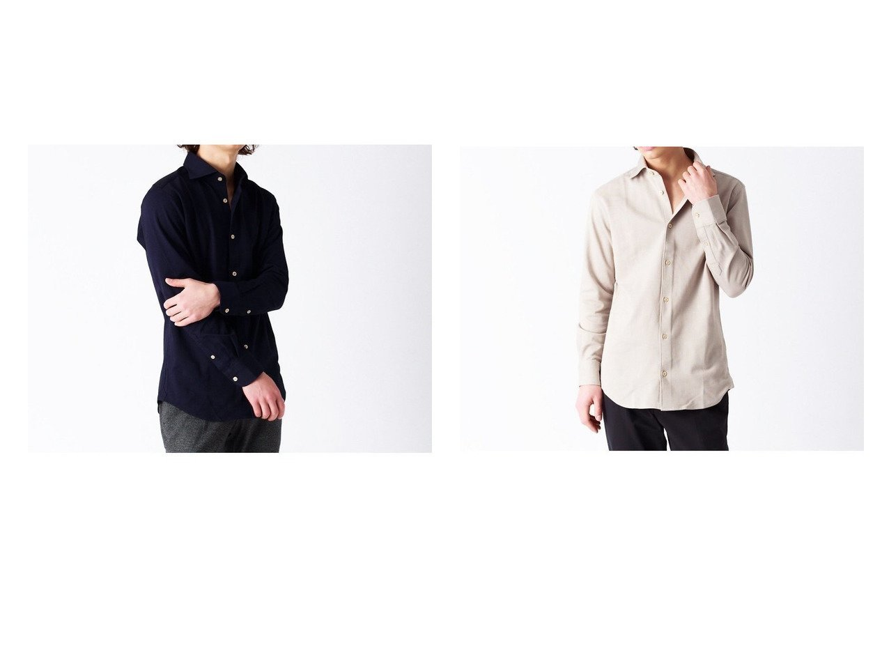 【ABAHOUSE LASTWORD / MEN/アバハウスラストワード】のALBINI 交織サーフニット シャツ 【MEN】おすすめ!人気トレンド・男性、メンズファッションの通販 おすすめで人気の流行・トレンド、ファッションの通販商品 メンズファッション・キッズファッション・インテリア・家具・レディースファッション・服の通販 founy(ファニー) https://founy.com/ ファッション Fashion メンズファッション MEN おすすめ Recommend イタリア インナー スラックス セットアップ 長袖  ID:crp329100000029004