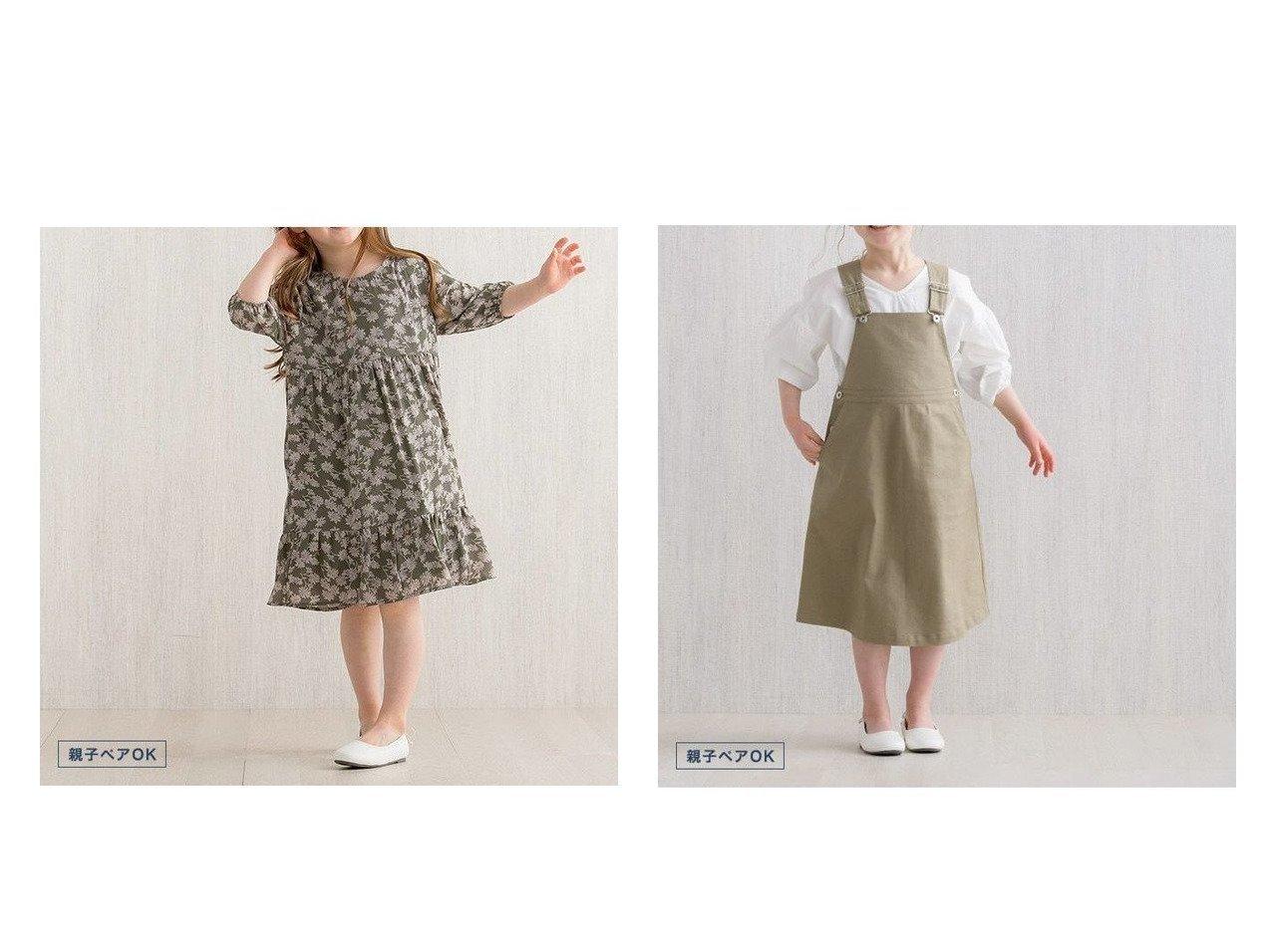 【Pierrot/ピエロ】のlulpini 花柄ワンピース&lulpini ツイルジャンスカ 【KIDS プチプライス】おすすめ!人気トレンド・ファッション通販  おすすめで人気の流行・トレンド、ファッションの通販商品 メンズファッション・キッズファッション・インテリア・家具・レディースファッション・服の通販 founy(ファニー) https://founy.com/ ファッション Fashion レディースファッション WOMEN ワンピース Dress インナー スリット ツイル プチプライス・低価格 Affordable ロング ギャザー ジョーゼット |ID:crp329100000029018