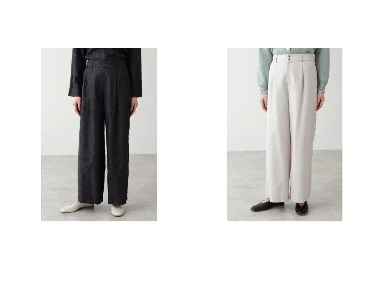 【HUMAN WOMAN/ヒューマンウーマン】の綿キュプラツイルPTパンツ&セルロース綿ドビーOXバイオパンツ 【パンツ】おすすめ!人気、トレンド・レディースファッションの通販 おすすめで人気の流行・トレンド、ファッションの通販商品 メンズファッション・キッズファッション・インテリア・家具・レディースファッション・服の通販 founy(ファニー) https://founy.com/ ファッション Fashion レディースファッション WOMEN パンツ Pants おすすめ Recommend スタンダード セットアップ プリント モチーフ ボトム ポケット 春 Spring  ID:crp329100000029088