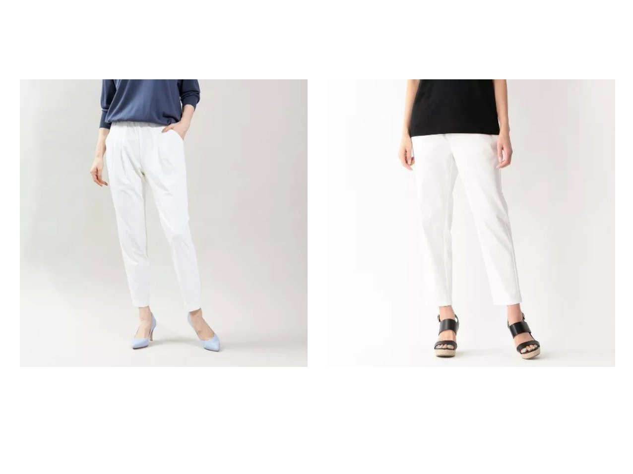 【qualite/カリテ】の《ブラック再入荷》2WAYストレッチタックパンツ&【S.ESSENTIALS/エス エッセンシャルズ】のホワイトチノスリムストレッチイージーパンツ 【パンツ】おすすめ!人気、トレンド・レディースファッションの通販 おすすめで人気の流行・トレンド、ファッションの通販商品 メンズファッション・キッズファッション・インテリア・家具・レディースファッション・服の通販 founy(ファニー) https://founy.com/ ファッション Fashion レディースファッション WOMEN パンツ Pants シンプル ストレッチ スリム 定番 Standard |ID:crp329100000029100