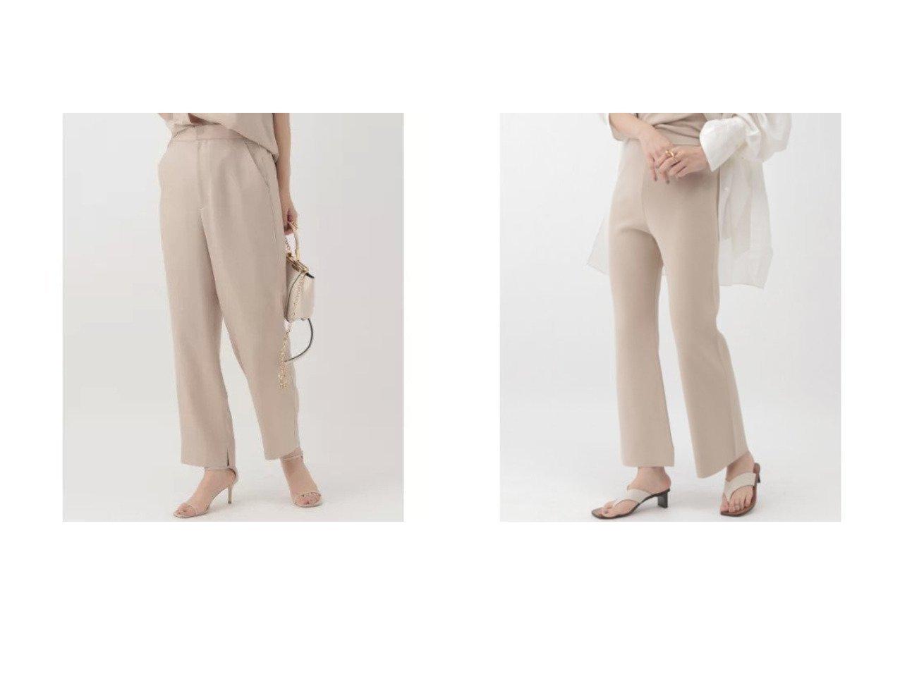 【Chaos/カオス】のアイアススリムパンツ&シルクコンミラノリブパンツ 【パンツ】おすすめ!人気、トレンド・レディースファッションの通販 おすすめで人気の流行・トレンド、ファッションの通販商品 メンズファッション・キッズファッション・インテリア・家具・レディースファッション・服の通販 founy(ファニー) https://founy.com/ ファッション Fashion レディースファッション WOMEN パンツ Pants おすすめ Recommend セットアップ リネン 人気 シルク スウェット ストレッチ スリット ミラノリブ |ID:crp329100000029105