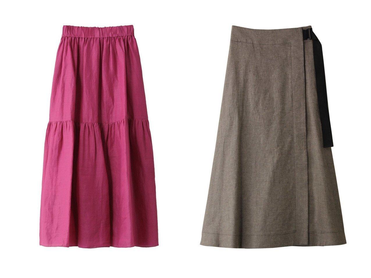 【SACRA/サクラ】のラミーローンティアードスカート&リネンコットンシャンブレーラップスカート 【スカート】おすすめ!人気、トレンド・レディースファッションの通販 おすすめで人気の流行・トレンド、ファッションの通販商品 メンズファッション・キッズファッション・インテリア・家具・レディースファッション・服の通販 founy(ファニー) https://founy.com/ ファッション Fashion レディースファッション WOMEN スカート Skirt ロングスカート Long Skirt ティアードスカート Tiered Skirts S/S・春夏 SS・Spring/Summer トレンド ネップ フレア ラップ ロング 春 Spring ティアードスカート フェミニン |ID:crp329100000029123