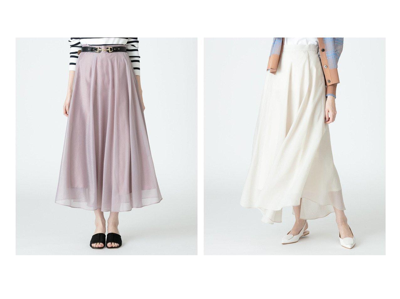 【allureville/アルアバイル】のシアーフレアスカート 【スカート】おすすめ!人気、トレンド・レディースファッションの通販 おすすめで人気の流行・トレンド、ファッションの通販商品 メンズファッション・キッズファッション・インテリア・家具・レディースファッション・服の通販 founy(ファニー) https://founy.com/ ファッション Fashion レディースファッション WOMEN スカート Skirt Aライン/フレアスカート Flared A-Line Skirts NEW・新作・新着・新入荷 New Arrivals エアリー ギャザー フレア |ID:crp329100000029126