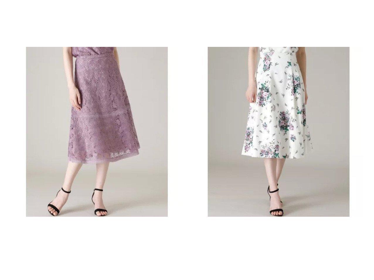 【ef-de/エフデ】の《Maglie WHITE》トルコレースフレアスカート&《Maglie par ef-de》フラワープリントスカート 【スカート】おすすめ!人気、トレンド・レディースファッションの通販 おすすめで人気の流行・トレンド、ファッションの通販商品 メンズファッション・キッズファッション・インテリア・家具・レディースファッション・服の通販 founy(ファニー) https://founy.com/ ファッション Fashion レディースファッション WOMEN スカート Skirt Aライン/フレアスカート Flared A-Line Skirts サンダル セットアップ チュール フラワー フレア プリント ポケット おすすめ Recommend ケミカル ティアード ボタニカル モチーフ レース 人気 春 Spring |ID:crp329100000029130