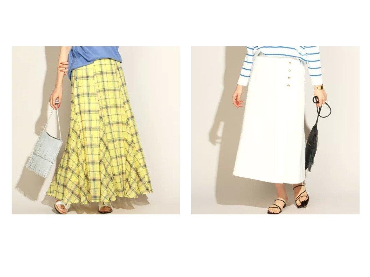 【NOLLEY'S/ノーリーズ】のシアーチェックマーメイドスカート&デニムフレアスカート 【スカート】おすすめ!人気、トレンド・レディースファッションの通販 おすすめで人気の流行・トレンド、ファッションの通販商品 メンズファッション・キッズファッション・インテリア・家具・レディースファッション・服の通販 founy(ファニー) https://founy.com/ ファッション Fashion レディースファッション WOMEN スカート Skirt Aライン/フレアスカート Flared A-Line Skirts S/S・春夏 SS・Spring/Summer デニム フレア フロント 春 Spring エレガント シアー チェック トレンド ドレス フェミニン マキシ マーメイド ロング  ID:crp329100000029138
