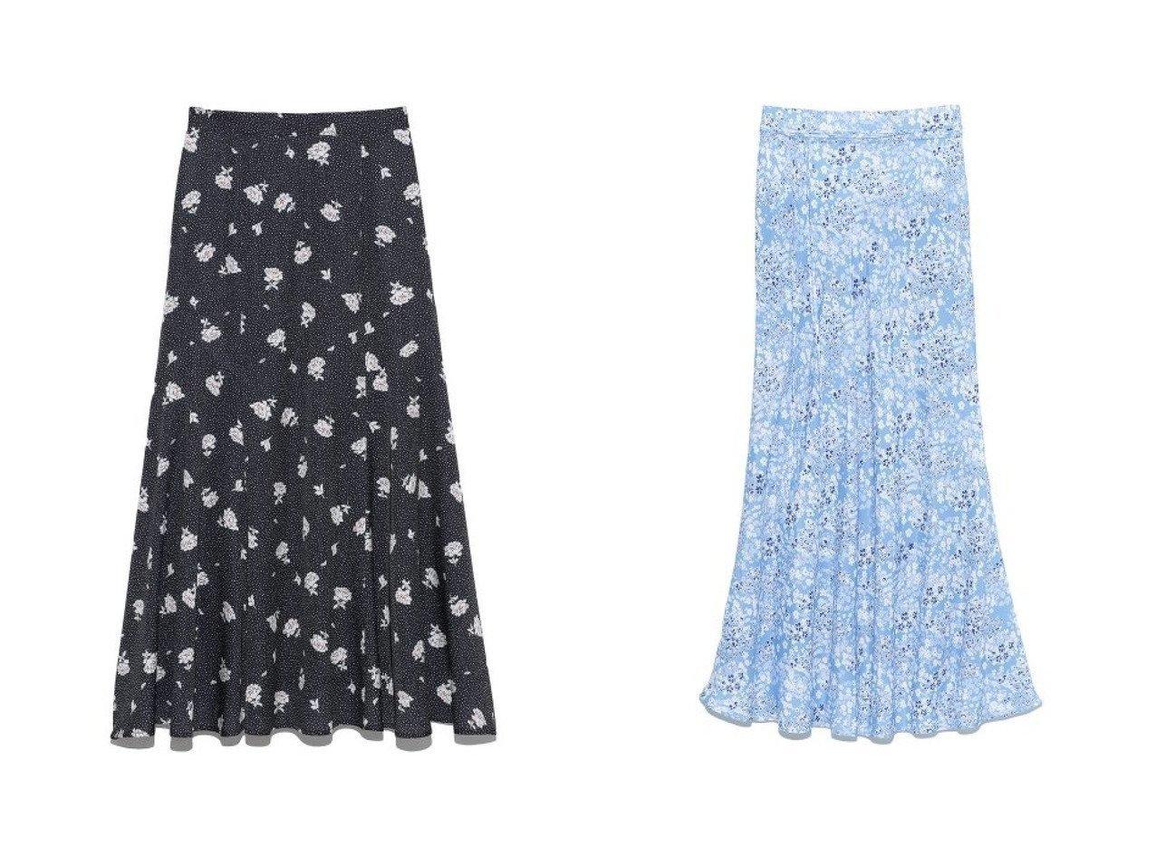 【Lily Brown/リリーブラウン】のドットフラワースカート&【Mila Owen/ミラオーウェン】のマーメイド花柄ナロースカート 【スカート】おすすめ!人気、トレンド・レディースファッションの通販 おすすめで人気の流行・トレンド、ファッションの通販商品 メンズファッション・キッズファッション・インテリア・家具・レディースファッション・服の通販 founy(ファニー) https://founy.com/ ファッション Fashion レディースファッション WOMEN スカート Skirt ロングスカート Long Skirt ヴィンテージ 春 Spring カラフル バイアス フィット フラワー プリント マーメイド リボン ロング イエロー サテン シンプル スペシャル ドット なめらか フレア ミックス S/S・春夏 SS・Spring/Summer おすすめ Recommend  ID:crp329100000029143