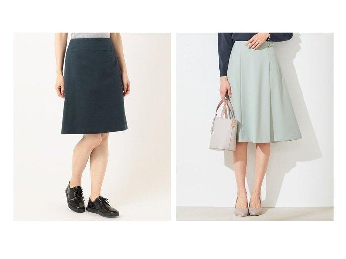 【any SiS/エニィ スィス】の【洗える】サイドベルト スカート&【Paul Smith/ポール スミス】の【セットアップ対応】コットンウールドビー テーラリング スカート 【スカート】おすすめ!人気、トレンド・レディースファッションの通販 おすすめファッション通販アイテム レディースファッション・服の通販 founy(ファニー) ファッション Fashion レディースファッション WOMEN スカート Skirt ベルト Belts セットアップ Setup スカート Skirt 洗える ジャージー フレア 楽ちん 再入荷 Restock/Back in Stock/Re Arrival 送料無料 Free Shipping おすすめ Recommend ジャケット ストレッチ スーツ セットアップ ポケット ミックス 定番 Standard 春 Spring |ID:crp329100000029146