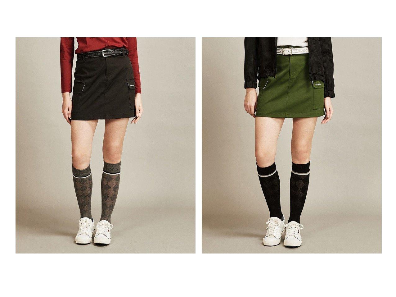 【NIJYUSANKU GOLF/23区 ゴルフ】の【WOMEN】【ストレッチ】ポリエステル ツイル スカート 【ゴルフウェア】おすすめ!人気、トレンド・レディースファッションの通販 おすすめで人気の流行・トレンド、ファッションの通販商品 メンズファッション・キッズファッション・インテリア・家具・レディースファッション・服の通販 founy(ファニー) https://founy.com/ ファッション Fashion レディースファッション WOMEN スカート Skirt 送料無料 Free Shipping カモフラージュ ストレッチ チェーン ツイル ポケット モチーフ 再入荷 Restock/Back in Stock/Re Arrival 台形  ID:crp329100000029158