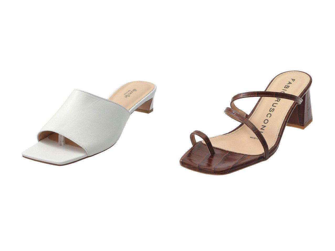 【MAISON SPECIAL/メゾンスペシャル】の【FABOI RUSCONI】ROLO2 サンダル&【allureville/アルアバイル】のトングサンダル 【シューズ・靴】おすすめ!人気、トレンド・レディースファッションの通販 おすすめで人気の流行・トレンド、ファッションの通販商品 メンズファッション・キッズファッション・インテリア・家具・レディースファッション・服の通販 founy(ファニー) https://founy.com/ ファッション Fashion レディースファッション WOMEN S/S・春夏 SS・Spring/Summer サンダル ラップ 春 Spring  ID:crp329100000029165