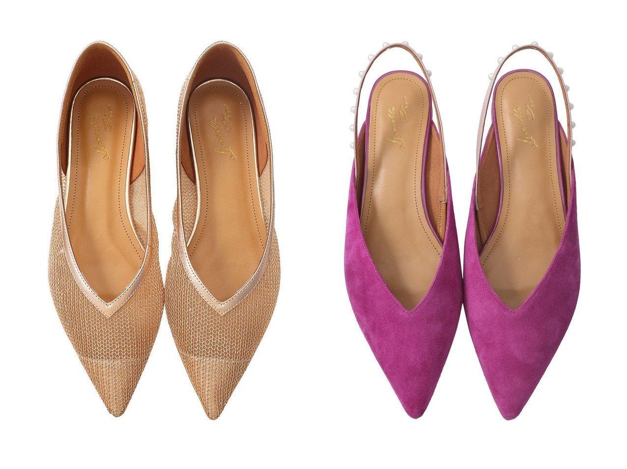 【Daniella & GEMMA/ダニエラ アンド ジェマ】のパールスリングバックフラットパンプス&メタリックメッシュフラットシューズ 【シューズ・靴】おすすめ!人気、トレンド・レディースファッションの通販 おすすめで人気の流行・トレンド、ファッションの通販商品 メンズファッション・キッズファッション・インテリア・家具・レディースファッション・服の通販 founy(ファニー) https://founy.com/ ファッション Fashion レディースファッション WOMEN バッグ Bag シンプル パール フェミニン フォルム フラット モチーフ シューズ トレンド マキシ メッシュ ワイド 人気  ID:crp329100000029166