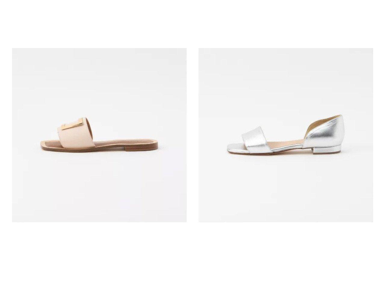 【EPOCA THE SHOP/エポカ ザ ショップ】の【CORSO ROMA,9】スクエアメタルサンダル&【CORSO ROMA,9】メタリックフラットサンダル 【シューズ・靴】おすすめ!人気、トレンド・レディースファッションの通販 おすすめで人気の流行・トレンド、ファッションの通販商品 メンズファッション・キッズファッション・インテリア・家具・レディースファッション・服の通販 founy(ファニー) https://founy.com/ ファッション Fashion レディースファッション WOMEN おすすめ Recommend イタリア サンダル シューズ シンプル スクエア トレンド メタル  ID:crp329100000029174