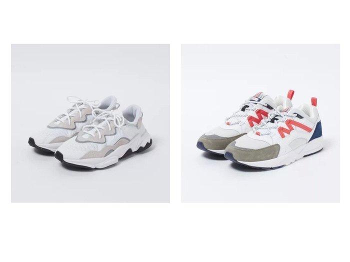 【KARHU/カルフ】のフュージョン2.0&【adidas Originals/アディダス オリジナルス】のOZWEEGO 【シューズ・靴】おすすめ!人気、トレンド・レディースファッションの通販 おすすめファッション通販アイテム インテリア・キッズ・メンズ・レディースファッション・服の通販 founy(ファニー) https://founy.com/ 雑誌掲載アイテム Magazine Items ファッション雑誌 Fashion Magazines エクラ eclat ファッション Fashion レディースファッション WOMEN 4月号 シューズ スニーカー トレンド フィット 厚底 雑誌 |ID:crp329100000029176