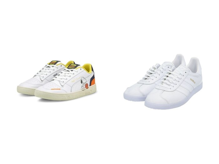 【adidas Originals/アディダス オリジナルス】のガゼル Gazelle アディダスオリジナルス&【PUMA/プーマ】のPUMA RALPH SAMPSON PEANUTS 【シューズ・靴】おすすめ!人気、トレンド・レディースファッションの通販 おすすめファッション通販アイテム レディースファッション・服の通販 founy(ファニー)  ファッション Fashion レディースファッション WOMEN シューズ ストライプ スニーカー スポーツ スリッポン ミックス 人気 キャラクター クッション バスケット プリント NEW・新作・新着・新入荷 New Arrivals |ID:crp329100000029186