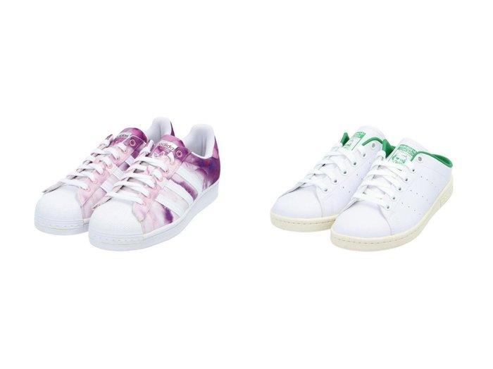 【adidas Originals/アディダス オリジナルス】のスーパースター SUPERSTAR アディダスオリジナルス FX6033 レディース&スタンスミス ミュール Stan Smith Mules アディダスオリジナルス FX5849 【シューズ・靴】おすすめ!人気、トレンド・レディースファッションの通販 おすすめファッション通販アイテム レディースファッション・服の通販 founy(ファニー)  ファッション Fashion レディースファッション WOMEN 今季 サンダル シューズ スニーカー スポーツ スリッポン 定番 Standard ミックス ミュール カラフル プリント |ID:crp329100000029188