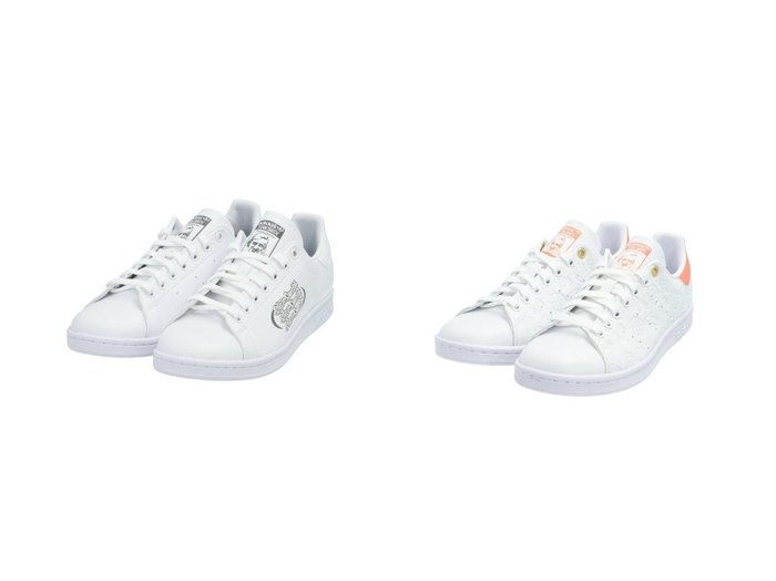 【adidas Originals/アディダス オリジナルス】のスタンスミス STAN SMITH アディダスオリジナルス&スタンスミス STAN SMITH アディダスオリジナルス FX5574 FX5575 【シューズ・靴】おすすめ!人気、トレンド・レディースファッションの通販 おすすめファッション通販アイテム インテリア・キッズ・メンズ・レディースファッション・服の通販 founy(ファニー) https://founy.com/ ファッション Fashion レディースファッション WOMEN グラフィック シューズ 人気 手描き ジーンズ スニーカー スリッポン 定番 Standard ベーシック |ID:crp329100000029192