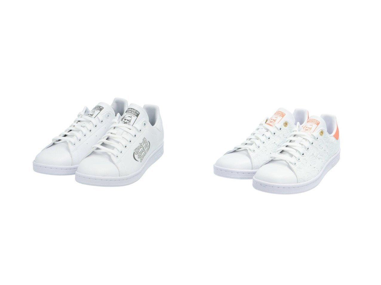 【adidas Originals/アディダス オリジナルス】のスタンスミス STAN SMITH アディダスオリジナルス&スタンスミス STAN SMITH アディダスオリジナルス FX5574 FX5575 【シューズ・靴】おすすめ!人気、トレンド・レディースファッションの通販 おすすめで人気の流行・トレンド、ファッションの通販商品 メンズファッション・キッズファッション・インテリア・家具・レディースファッション・服の通販 founy(ファニー) https://founy.com/ ファッション Fashion レディースファッション WOMEN グラフィック シューズ 人気 手描き ジーンズ スニーカー スリッポン 定番 Standard ベーシック |ID:crp329100000029192