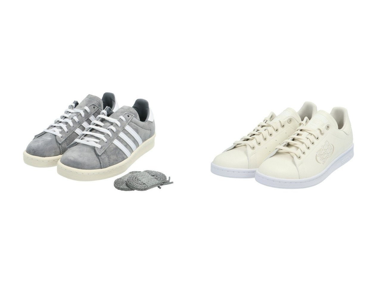 【adidas Originals/アディダス オリジナルス】のCAMPUS 80s&スタンスミス STAN SMITH アディダスオリジナルス FX5574 FX5575 【シューズ・靴】おすすめ!人気、トレンド・レディースファッションの通販 おすすめで人気の流行・トレンド、ファッションの通販商品 メンズファッション・キッズファッション・インテリア・家具・レディースファッション・服の通販 founy(ファニー) https://founy.com/ ファッション Fashion レディースファッション WOMEN シューズ ジーンズ スニーカー スリッポン 定番 Standard ベーシック クラシック スエード ストライプ 人気 |ID:crp329100000029193