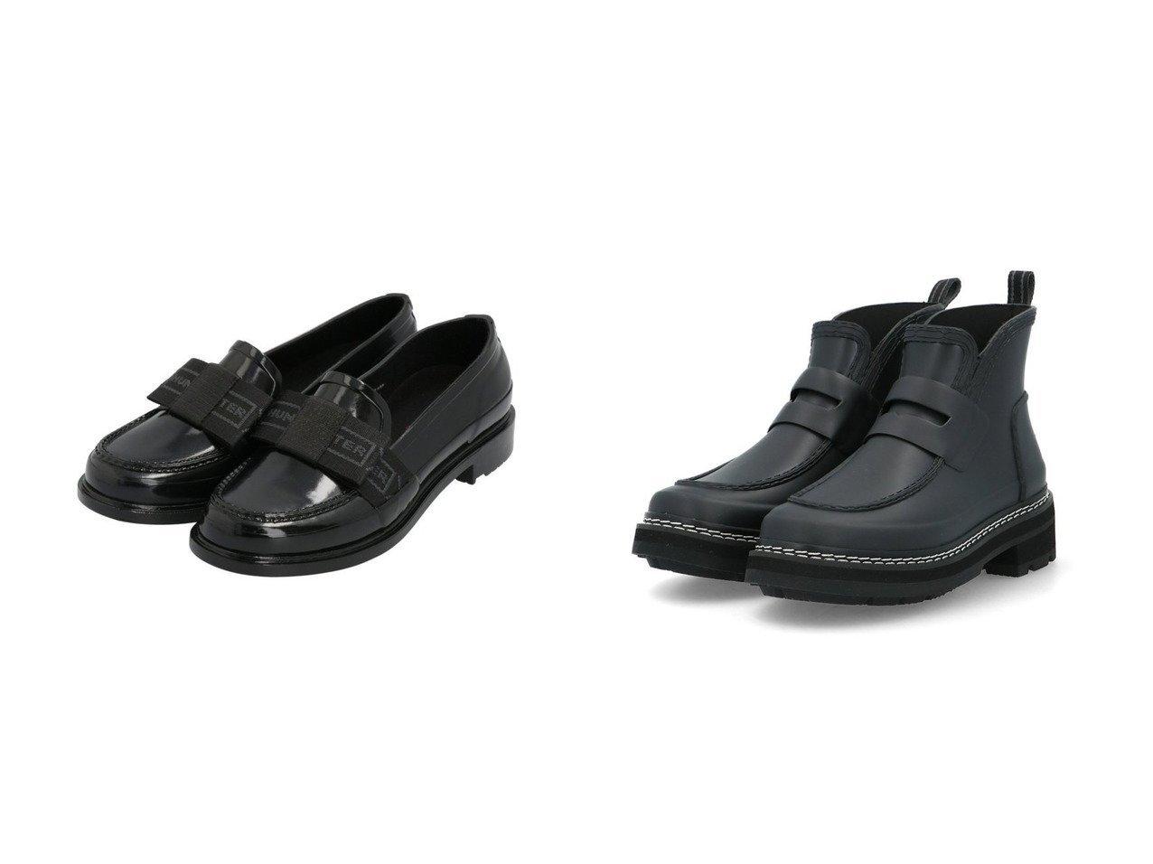 【HUNTER/ハンター】の【レディース】リファインドボウペニーローファー グロス&【レディース】リファインドスティッチ ローファーブーツ 【シューズ・靴】おすすめ!人気、トレンド・レディースファッションの通販 おすすめで人気の流行・トレンド、ファッションの通販商品 メンズファッション・キッズファッション・インテリア・家具・レディースファッション・服の通販 founy(ファニー) https://founy.com/ ファッション Fashion レディースファッション WOMEN NEW・新作・新着・新入荷 New Arrivals シューズ スタイリッシュ ハンド ラバー ドレス リボン |ID:crp329100000029195