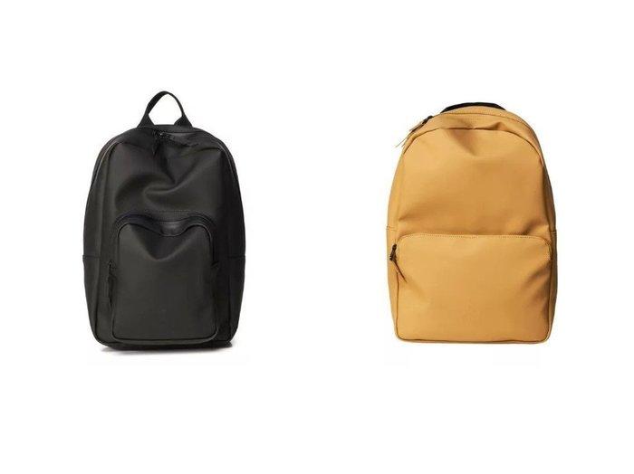 【RAINS/レインズ】のBase Bag Mini Backpack&Fieid Bag Backpack 【バッグ・鞄】おすすめ!人気、トレンド・レディースファッションの通販 おすすめファッション通販アイテム インテリア・キッズ・メンズ・レディースファッション・服の通販 founy(ファニー) https://founy.com/ ファッション Fashion レディースファッション WOMEN バッグ Bag クール ジップ スマート スリム ポケット コンパクト フォルム メッシュ ワンポイント |ID:crp329100000029214