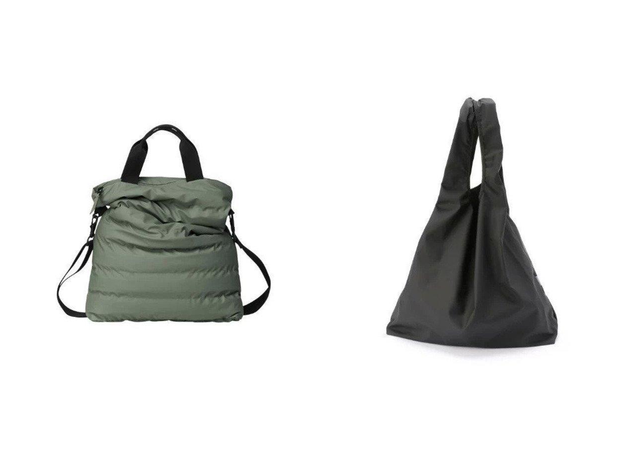 【RAINS/レインズ】のTrekker Tote&Market Bag Totes 【バッグ・鞄】おすすめ!人気、トレンド・レディースファッションの通販 おすすめで人気の流行・トレンド、ファッションの通販商品 メンズファッション・キッズファッション・インテリア・家具・レディースファッション・服の通販 founy(ファニー) https://founy.com/ ファッション Fashion レディースファッション WOMEN バッグ Bag シンプル ワンポイント フォルム |ID:crp329100000029224