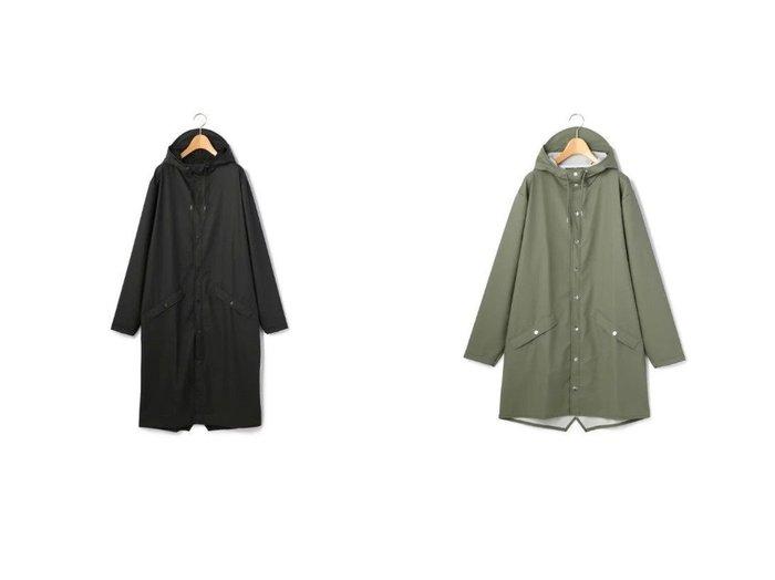 【RAINS/レインズ】のLonger Jacket Essential&Long Jacket Essential 【アウター】おすすめ!人気、トレンド・レディースファッションの通販 おすすめファッション通販アイテム レディースファッション・服の通販 founy(ファニー) ファッション Fashion レディースファッション WOMEN アウター Coat Outerwear コート Coats ジャケット Jackets ショルダー ドロップ フィット フロント メタル ドローコード |ID:crp329100000029283