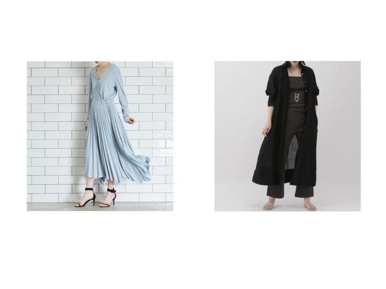【CLEAR IMPRESSION/クリアインプレッション】の《INED CLARO》カットプリーツワンピース&【Chaos/カオス】のガーランドシャツワンピース 【ワンピース・ドレス】おすすめ!人気、トレンド・レディースファッションの通販 おすすめで人気の流行・トレンド、ファッションの通販商品 メンズファッション・キッズファッション・インテリア・家具・レディースファッション・服の通販 founy(ファニー) https://founy.com/ ファッション Fashion レディースファッション WOMEN ワンピース Dress シャツワンピース Shirt Dresses インド フランス ラグジュアリー 羽織 長袖 カットソー  ID:crp329100000029334