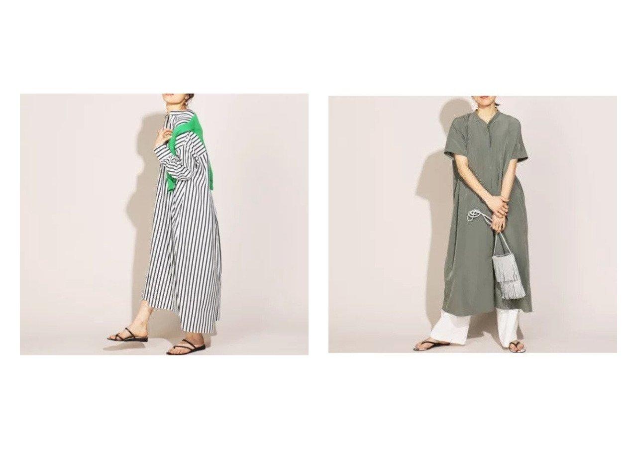 【NOLLEY'S/ノーリーズ】のヴィンテージファイユボリュームワンピース&【WEB限定】ストライプシャツワンピース 【ワンピース・ドレス】おすすめ!人気、トレンド・レディースファッションの通販 おすすめで人気の流行・トレンド、ファッションの通販商品 メンズファッション・キッズファッション・インテリア・家具・レディースファッション・服の通販 founy(ファニー) https://founy.com/ ファッション Fashion レディースファッション WOMEN ワンピース Dress シャツワンピース Shirt Dresses インナー マキシ 半袖 長袖  ID:crp329100000029338