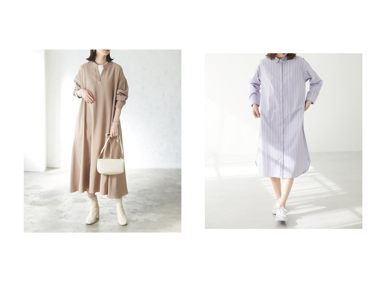 【Green Parks/グリーンパークス】の・novem 9 Aラインノーカラーシャツワンピース&ストライプシャツワンピース 【ワンピース・ドレス】おすすめ!人気、トレンド・レディースファッションの通販 おすすめで人気の流行・トレンド、ファッションの通販商品 メンズファッション・キッズファッション・インテリア・家具・レディースファッション・服の通販 founy(ファニー) https://founy.com/ ファッション Fashion レディースファッション WOMEN ワンピース Dress シャツワンピース Shirt Dresses 送料無料 Free Shipping スタイリッシュ ストライプ スリット ポケット ラウンド ランダム 再入荷 Restock/Back in Stock/Re Arrival インナー 春 Spring コンパクト シアー シューズ ショルダー スキッパー スニーカー 財布 ハイネック フェミニン フラット ボストン 防寒 リブニット レース 冬 Winter 2021年 2021  ID:crp329100000029355