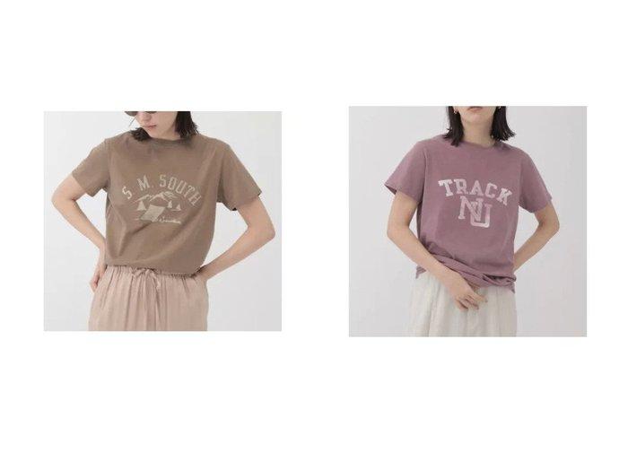 【Chaos/カオス】の【REMI RELIEF】SMSOUTH プリントTシャツ&【REMI RELIEF】TRACK プリントTシャツ 【トップス・カットソー】おすすめ!人気、トレンド・レディースファッションの通販 おすすめファッション通販アイテム インテリア・キッズ・メンズ・レディースファッション・服の通販 founy(ファニー) https://founy.com/ ファッション Fashion レディースファッション WOMEN トップス・カットソー Tops/Tshirt シャツ/ブラウス Shirts/Blouses ロング / Tシャツ T-Shirts カットソー Cut and Sewn アメリカン ヴィンテージ カットソー パターン プリント ベーシック 半袖 |ID:crp329100000029398